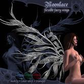 "Chaospire - ""Moonlace"" Flexible Faery Wings"