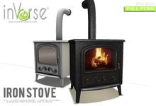 inVerse® MESH - Iron Stove full permission