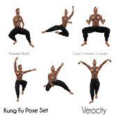 Verocity - Kung Fu Pose Set