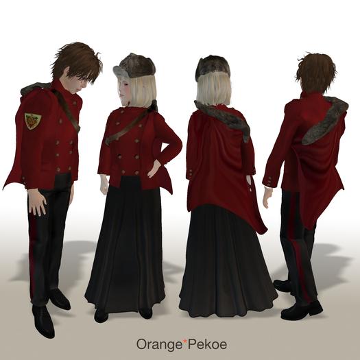 Second Life Marketplace Orange Pekoe Nordic Wizard Yule Ball Outfit Bienvenue, les buveurs de thé / immigrés ! nordic wizard yule ball outfit
