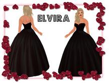 Elvira - Black Gown