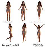 Verocity - Poppy Pose Set