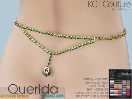 -KC- QUERIDA WAIST CHAIN / MAITREYA, BELLEZA, SLINK, TMP, TONIC