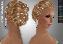 FaiRodis Angel hair updo black2+diamond decoration DEMO pack