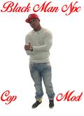 AL - Black Man Red Cap Std 1LI