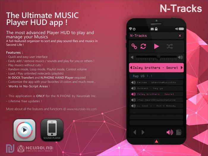 N-TRACKS (N.PHONE APP) [NeurolaB Inc.]