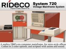 RiDECO - System 720