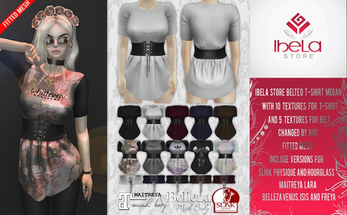Ibela Store - Belted T-Shirt Megan