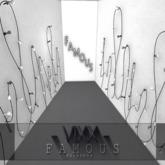 -VIXX- Mesh backdrop - FAMOUS
