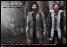 !APHORISM! Winter Parka Men - Fatpack