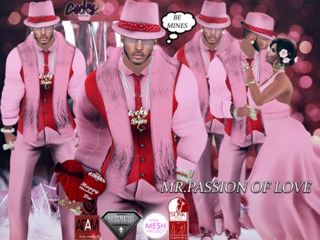 {RC} Mr. Passion of Love Suits