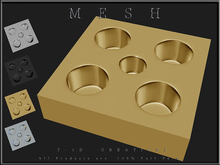 T-3D Creations [ Chocolate Truffles Tray ]  Micro and Regular MESH - Full Perm -