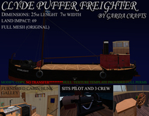 Clyde Puffer steam freighter-R V2.3 mayday broadcast system