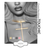 TOUCHIC - NECKLACE CROSS FATPACK