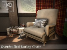 [BR] Rustic Overstuffed Chair - COPY