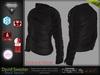 David Black Male Mens Top Sweater - Mesh - TMP, Adam, Slink, Aesthetic, Signature - FashionNatic
