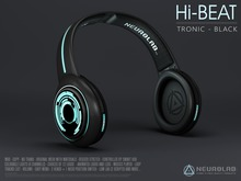 Hi-Beat4 (TRONIC BLACK) [NeurolaB Inc.] Cyber Cyberpunk Sci-fi Fashion Audio