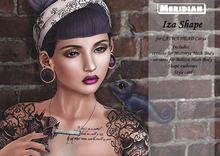 [Meridian] Iza Shape for CATWA HEAD Catya