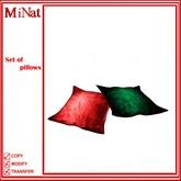 MiNat Set of pillows