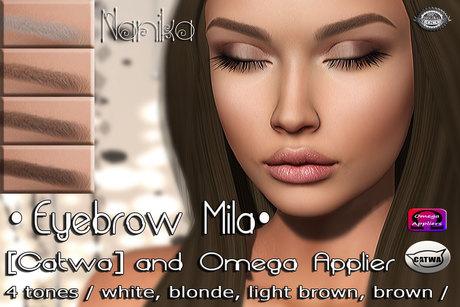 .::Nanika::.Eyebrow Mila