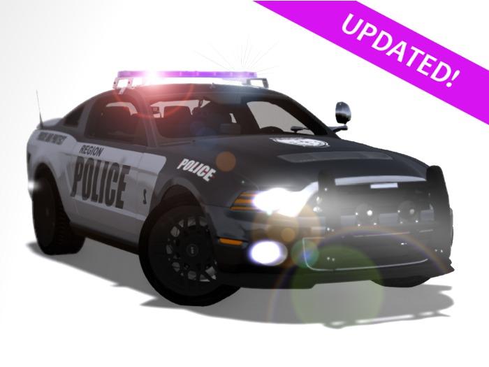 *UPDATED!* Police Interceptor Patrol Car / Squad Car / Cruiser
