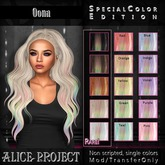 Alice Project - Oona - Glitter/Rainbow Purple