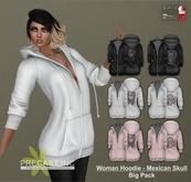 PRECAST Inc. - Woman Hoodie - Pack