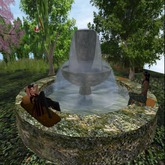 KK Garden Fountain (Mossy Stone)