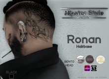 [Hipster Style] Ronan Hairbase BLACK