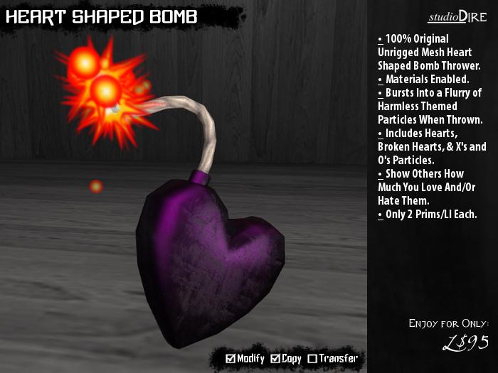 /studioDire/ Heart Shaped Bomb