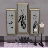 -VIXX- Mesh backdrop - COUTURE