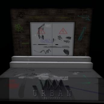 -VIXX- Mesh backdrop - URBAN
