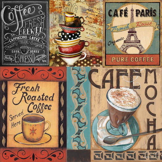 TEXTURE CHANGING KITCHEN WALL ART COFFEE THEMED 29 CHOICES