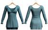 Blueberry - Piki Dress - Maitreya, Belleza (All), Slink Physique Hourglass - ( Mesh ) - Aqua
