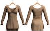 Blueberry - Piki Dress - Maitreya, Belleza (All), Slink Physique Hourglass - ( Mesh ) - Beige