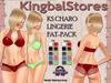 KS CHARO LINGERIE FAT-PACK
