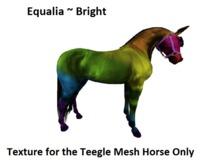 {{P.I.D&D}} Equalia Bright Teegle Horse Applier (wear me)