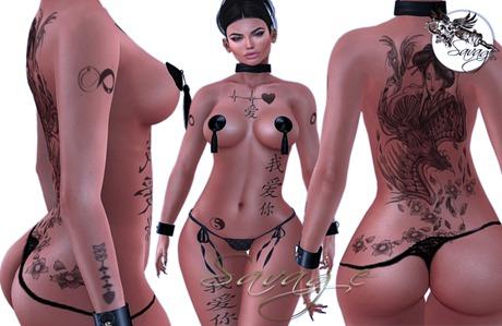 ...:::Savage:::... Japan Love Tattoo