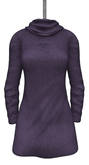 DE Designs - Mandy Sweater Dress - Purple