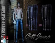 (red)sand  COLT jeans-BLACK   /TMP/Slink/Aesthetic/Adam/Gianni/+5 Std Sizes
