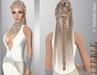 FaiRodis Delis hair light blonde2 with flexi braid+pearl diadem