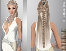 FaiRodis Delis hair light blonde2 with  flexi braid+pear diadem_DEMO