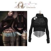LFE;fya - Crop Sweater 1