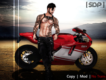 ...::: [ SDP ] Pose Motorcycle Male I