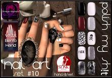 PMS - Nail Art - Set #10