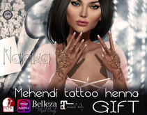 .::Nanika::. Mehendi henna tattoo GIFT