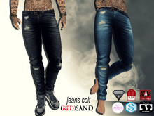 (red)sand  COLT jeans-berry blue/TMP/Slink/Aesthetic/Adam/Gianni/+5 Std Sizes