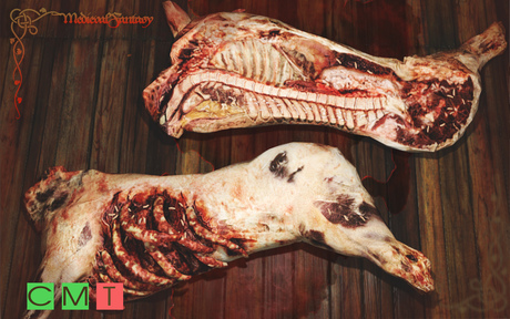 [MF] Mesh rotten bloody side of pork (boxed)