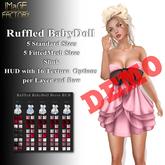 IMaGE Factory Ruffled BabyDoll Dress Demo