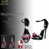 IMaGE Factory BabyDoll Bow Heels